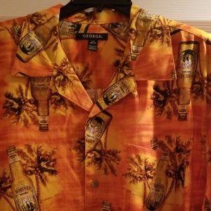 Casual caribbean shirt